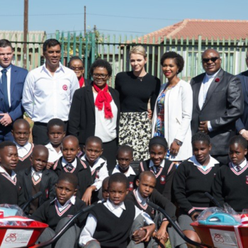 The Princess Charlene Of Monaco Foundation South Africa Hosts A Cocktail…