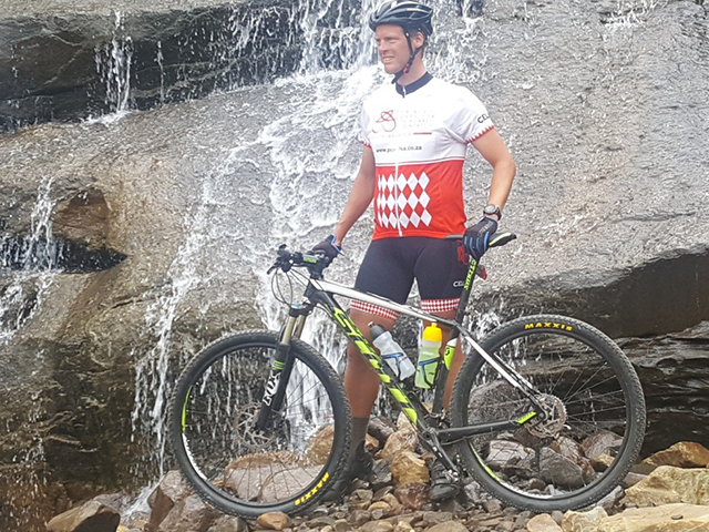 Terence Parkin completes 902km